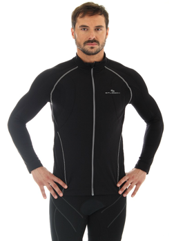 Brubeck LS11060 Bluza męska z membraną czarny