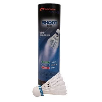 Lotki badminton Spokey Shot-blue 83436 6 sztuk