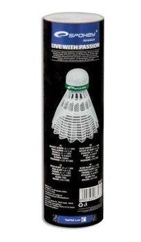 Lotki badminton Spokey Shot-green 83437 6 sztuk