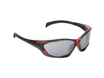 Okulary B Skin GIZER GL-BS061 czarno-czerwone
