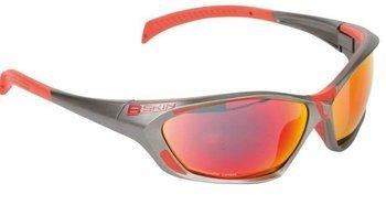 Okulary B Skin GIZER GL-BS062 grafitowo-czerwone