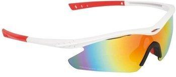 Okulary B Skin PARITE biało-czerwone GL-BS067