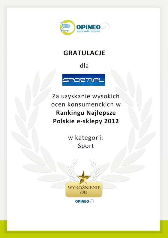 Wyróżnienie dla sporti.pl
