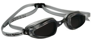 Aquasphere okulary K180 ciemne silver-black