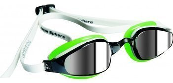 Aquasphere okulary K180 mirror white-green