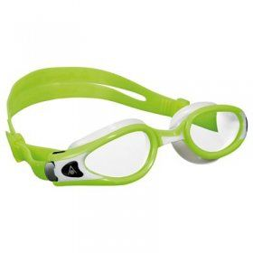 Aquasphere okulary do pływania Kaiman Exo small clear lens lime/white
