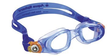 Aquasphere okulary do pływania Moby Kid clear lens blue/orange