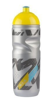 Bidon Kelly's THUNDRA thermo 0,5 l silver-yellow