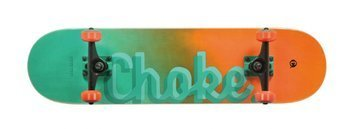 Deskorolka Choke Logo series Greenish