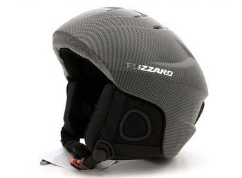 Kask BLIZZARD Cross silver - carbon matt