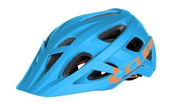Kask Cube AM RACE blue-orange