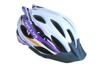 Kask Kelly's DYNAMIC white-alpine purple