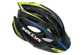 Kask Kelly's SCORE black-blue-lime M-L