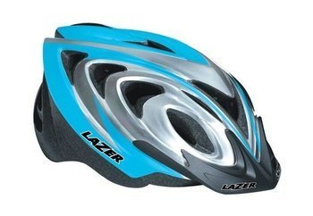 Kask MTB LAZER X3M ice-blue-grey