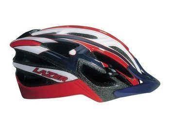 Kask MTB Lazer REVOLUTION 57-62cm red  white blue