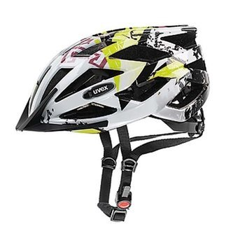 Kask Uvex AIR WING 52-57cm white-green + okulary