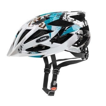 Kask Uvex AIR WING 52-57cm white-turquoise + okulary