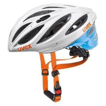 Kask Uvex BOSS RACE white-blue