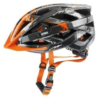 Kask Uvex I-VO C dark silver-orange