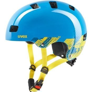 Kask Uvex  KID 3 51-53 cm flowers white