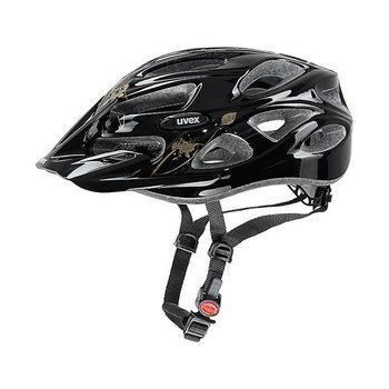 Kask Uvex ONYX black butterfly gold