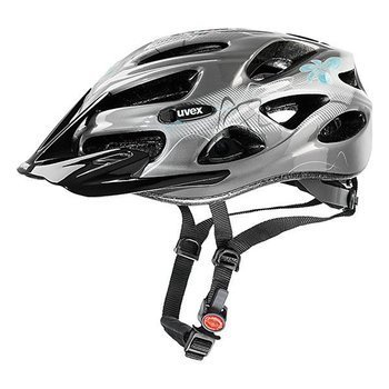 Kask Uvex ONYX dark silver-light blue