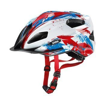 Kask Uvex QUATRO JUNIOR white-red