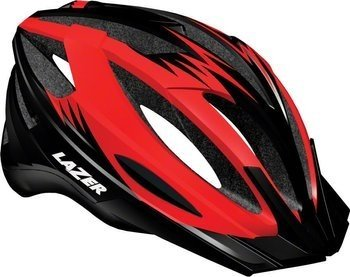 Kask mtb LAZER CLASH red black 54-61 cm