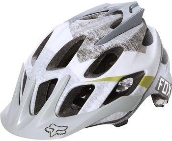 Kask rower. Fox FLUX DRESDEN grey L-XL