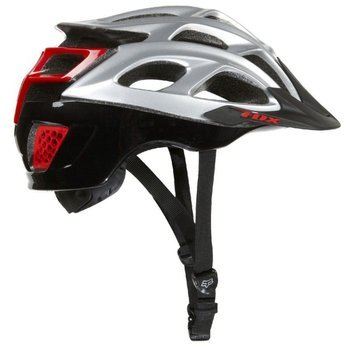 Kask rowerowy Fox STRIKER silver-red