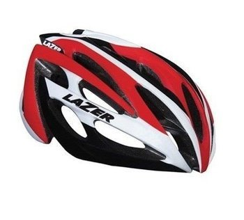 Kask szosa LAZER O2 RD New white-red