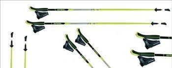 Kij Nordic Walking Gabel Strinde Light black NCS