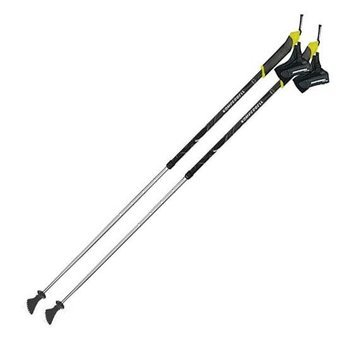 Kij Nordic Walking Komperdell Alloy II black-lime