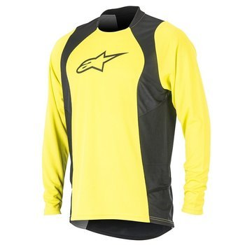 Koszulka Alpinestars DROP 2 acid yellow-black 1766415-547