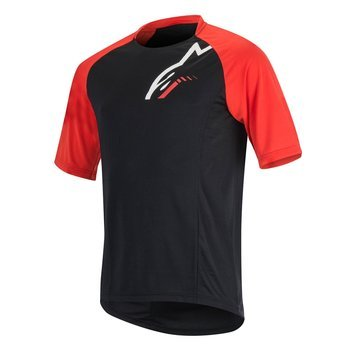 Koszulka Alpinestars TRAILSTAR black-red 1764516-13