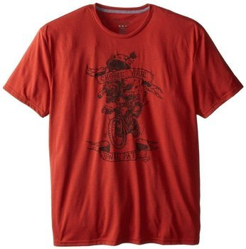 Koszulka T-shirt Fox Pedal Bite Heather Flame red L