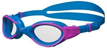 Okulary Arena Nimesis Woman clear/blue/fuchsia