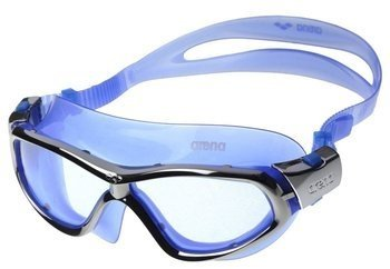 Okulary Arena Orbit mask blue-silver-blue