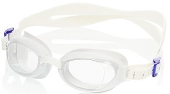 Okulary Speedo Aquapure Female white-clear