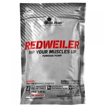 Olimp - Redweiler 210g red punch