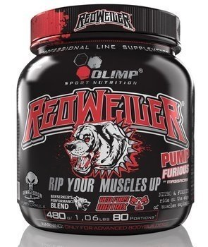 Olimp - Redweiler 480g red punch