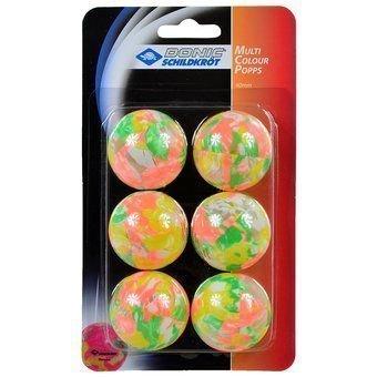 Piłeczki do tenisa stołowego Donic Multicolor 6 sztuk