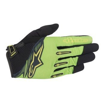 Rękawiczki Alpinestars FLOW bright green-black 1562115-611