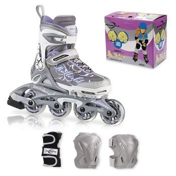 Rolki Rollerblade Spitfire Combo silver-purple