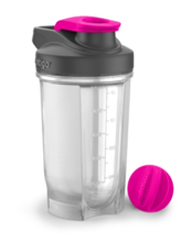 Shaker do odżywek Contigo Shake & Go FIT Pink 590 ml