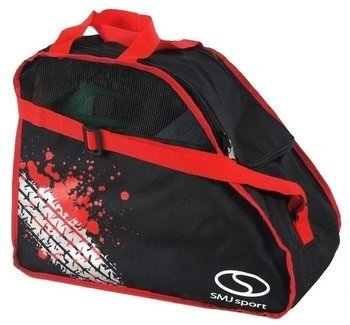 Torba na rolki SMJ Skate bag black-red-grey