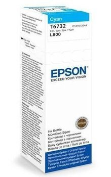 Tusz Epson T6732 cyan butelka 70ml do L800 L810 L850 L1800