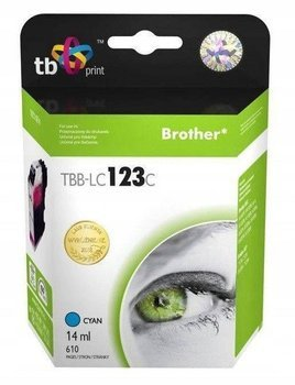 Tusz TB Print do Brother LC123 Cyan TBB-LC123C