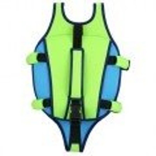 Aquasphere kamizelka Swim Vest M2-3Y  fluo green-light blue