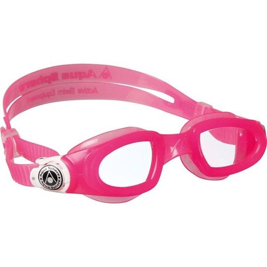 Aquasphere okulary do pływania Moby Kid clear lens pink/white